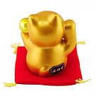 Золотой манеки-неко «С жемчужиной», фото 4