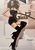 Дамские гольфы выше колена микрофибра Gatta Parigina 100 ден черные