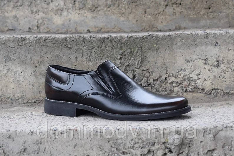 Туфли мужские из кожи Glossy classic