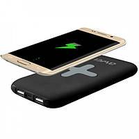 Беспроводная мобильная зарядка + Powerbank AWEI P98K 8000mah, фото 1