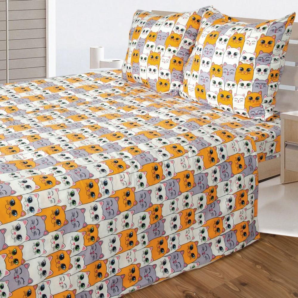 Комплект белья из фланели в кроватку ТМ Ярослав
