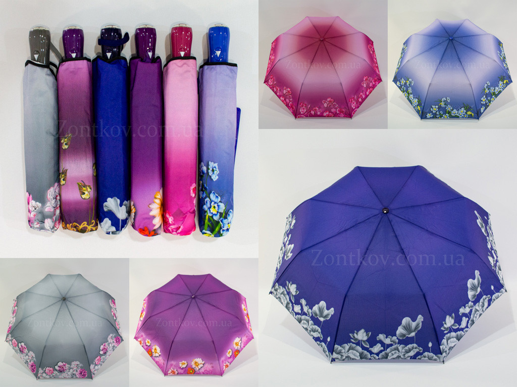 "Зонт женский полуавтомат ""купон"" оптом от фирмы ""Lantana"""