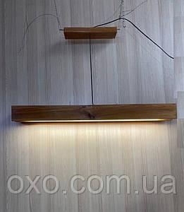 Люстра в стиле лофт 2i Loft Bar (23145671), Подвесной светильник с лэд лампой с деревянного бруса