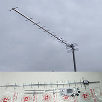Телевизионная внешняя пассивная Антенна Т2 DVB 24_KA (2m.) до 100 км.