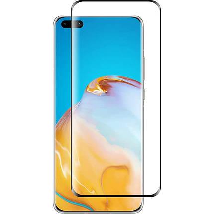 Захисне скло 3D PowerPlant для Huawei P40 Pro, фото 2