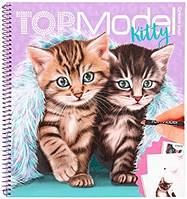 TOP Model - Набір для творчості Kitty (Альбом для творчества ТОП Модел Котик 11133_A)