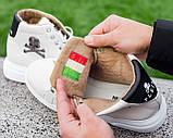 Мужские зимние кроссовки Philipp Plein ботинки филипп плейн, чоловічі зимові кросівки Philipp Plein ботінки, фото 3