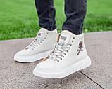 Мужские зимние кроссовки Philipp Plein ботинки филипп плейн, чоловічі зимові кросівки Philipp Plein ботінки, фото 2