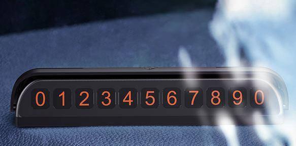 Визитка на панель при временной парковки автомобиля Joyroom JR-ZS173 Black, фото 2