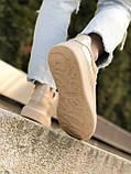 Женские кроссовки Alexander Mcqueen бежевые (копия), фото 2