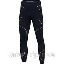 Термобілизна чоловіча штани BODYDRY Pulsar XS/S 2021 grafit/yellow (PUL405-XS/S)
