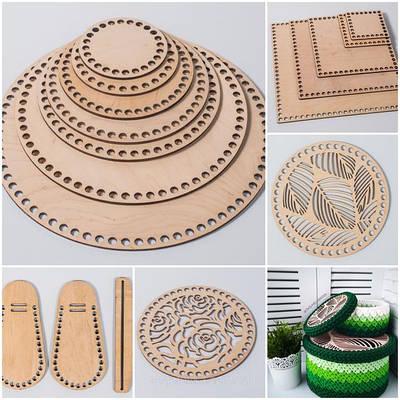 Заготовки для рукоделия из фанеры