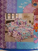 Полуторные детские комплекты постельного белья Куколки Лол Lol, бязь Голд Люкс, 145х220 см