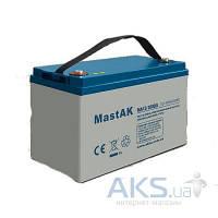 Гелевый аккумулятор MastAK 12В 100Ач  (MA12-100DG)