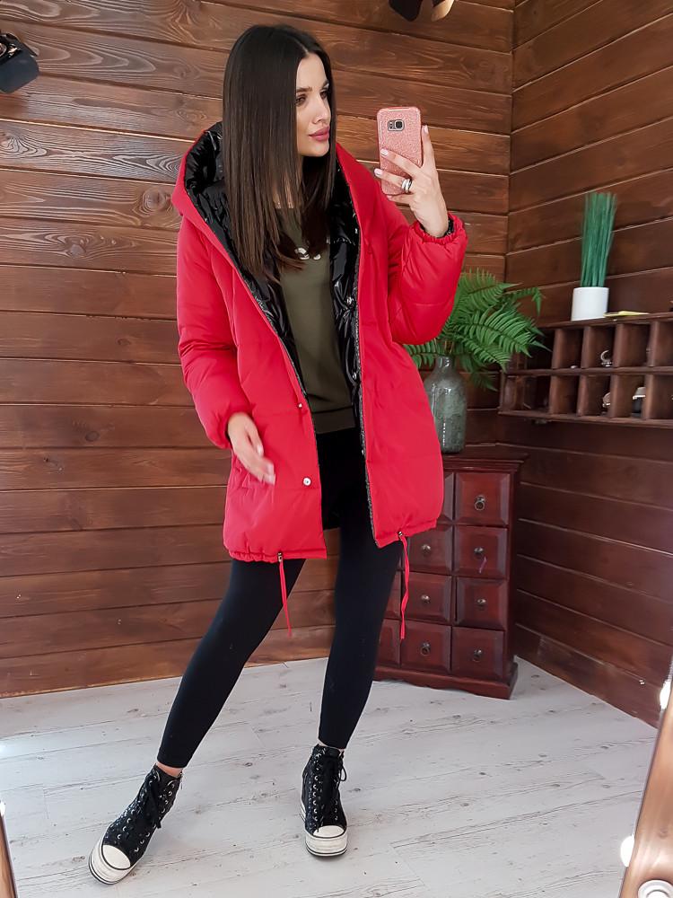 Двухсторонняя дутая куртка - зефирка