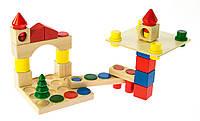 Немецкий деревянный конструктор для ребенка nic cubio деревянный 44детали (NIC2101)