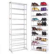 Полку для взуття органайзер 10 полиць на 30 пар Amazing Shoe Rack