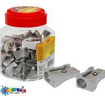 Точилка TK-52607 металлическая банке (100/4800) (ТИКИ)