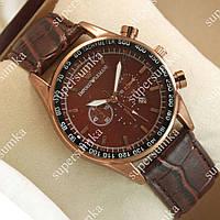 Стильные наручные часы Armani Bronze/Brown 109 для мужчин