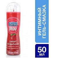 Интимный гель-смазка Durex Play Sweet Strawberry 50 мл (5038483870426)