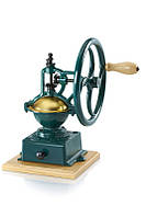 Чугунная  мельница для кофе ручная Tre spadeMC 140V, цвет зеленый