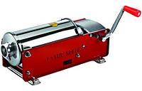 Горизонтальный наполнитель колбас Tre spade MOD. 5 ,цвет красный