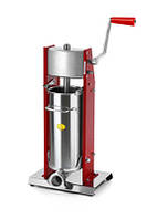 Вертикальный шприц для начинки колбас ручной Tre spade MOD. 5/V, цвет красный, фото 1
