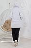 Женский утепленный костюм с удлиненной курткой размеры от 48 до 58, фото 2