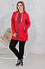 Женский утепленный костюм с удлиненной курткой размеры от 48 до 58, фото 5