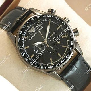Классические наручные часы Armani Black Silver/Black 112 для мужчин