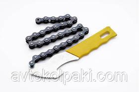 Ключ для снятия масляных фильтров, с цепью СИЛА