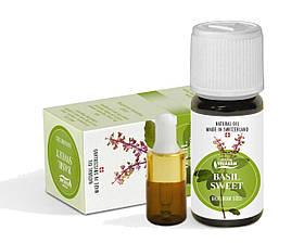 Натуральне ефірне масло Базилік солодкий пробник Вівасан Швейцарія 1 мл
