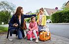 Дитяча валіза TOPMOVE® для подорожей orange, фото 10