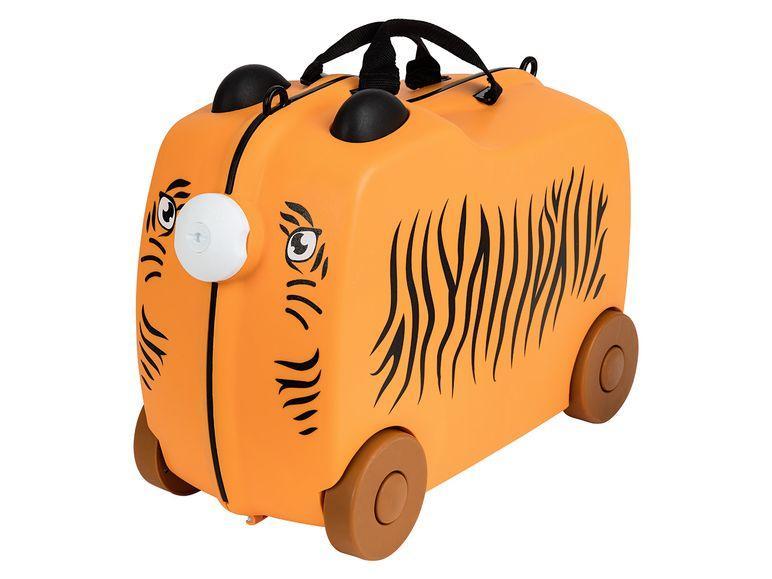 Дитяча валіза TOPMOVE® для подорожей orange