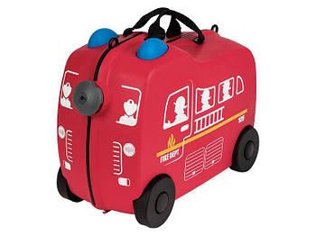 Дитяча валіза TOPMOVE® для подорожей red