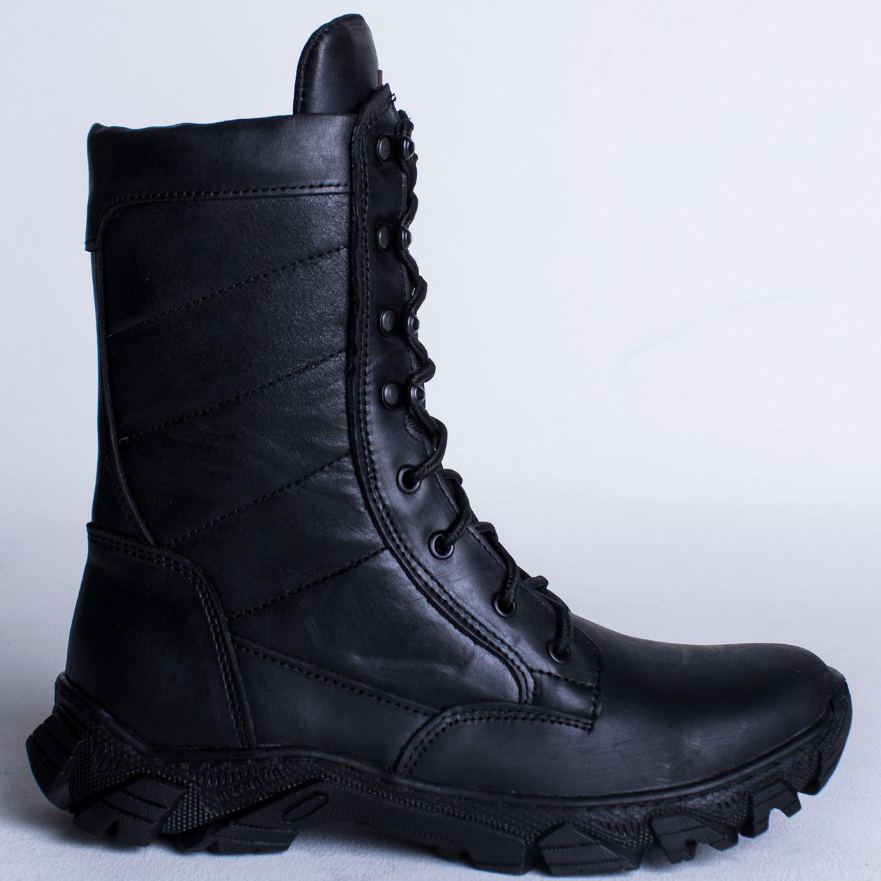 Берцы Зимние, Военные Шторм-2 Черный