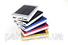 Power Bank c солнечной батареей+LED 50000mah