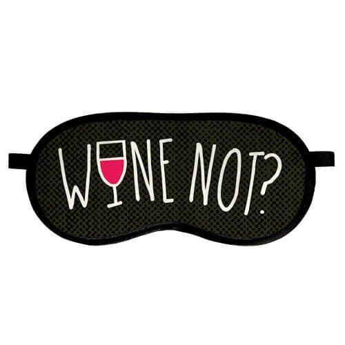 Маска для сна Present «Wine not» MDS_EX003