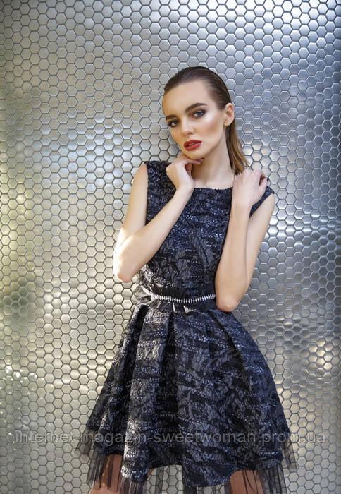 Сукня чорний Шанель