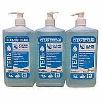 Дезінфікуючий засіб CLEAN STREAM ГЕЛЕВА форма 1 л (квадратний флакон з дозатором), фото 1