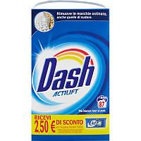 Порошок для стирки универсального белья Dash Actilift Италия 87 стир
