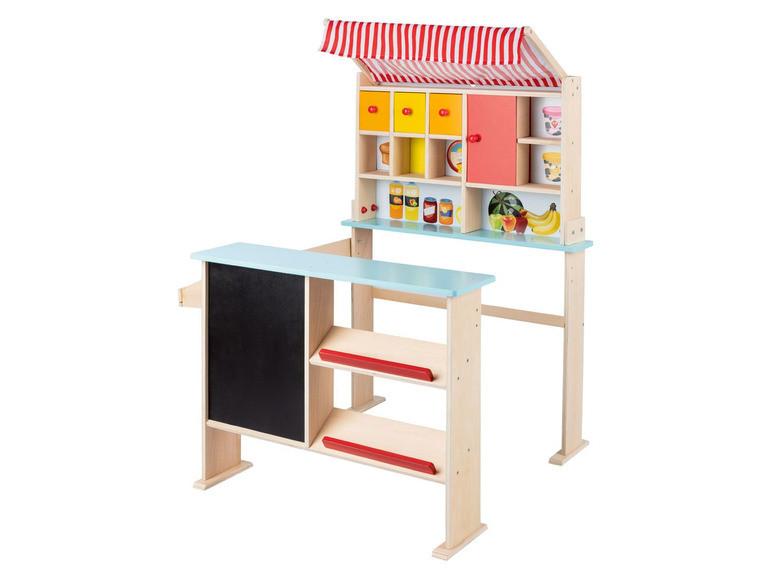 Дерев'яний магазин PLAYTIVE® для дітей
