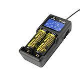 Профессиональное зарядное устройство XTAR VC2, фото 4