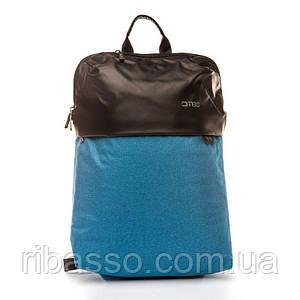 Рюкзак міський для ноутбука Хвиля BST 320019 32х17х47 див. блакитний