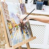 Многофункциональный Набор Кистей для Рисования В Кейсе 17 шт Подходят для Масла, Акрила, Акварели, Гуаши, фото 9