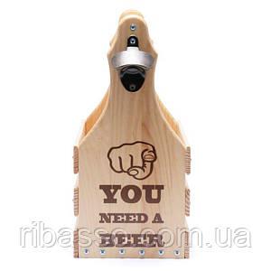 Ящик для 6 бутылок пива 0,5 л. 040541