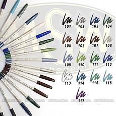 FlorMar - Карандаш для глаз водостойкий Тон №103 dusty blue матовый, фото 2