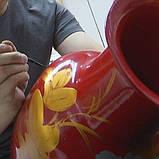 Набор Тонких Кистей 9 шт для Акриловых Красок Transon из Премиум Нейлона, Миниатюрные Кисти для Художки, фото 7
