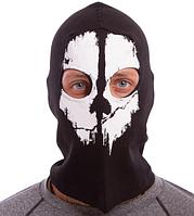 Балаклава с черепом, маска, подшлемник Черный