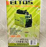Зварювальний апарат Eltos ММА-340 + Болгарка, фото 7